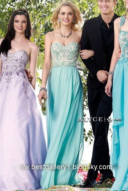 مدل لباس مجلسی بلند 2014