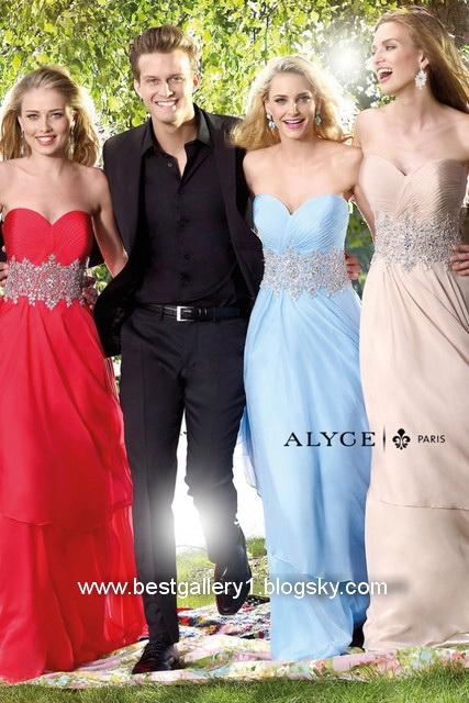 مدل لباس مجلسی بلند و زیبا 2014