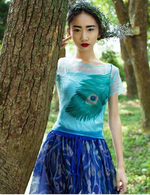 لباس مجلسی دخترانه كره اي 2015