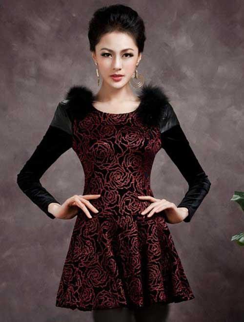 مدل لباس مجلسی دخترانه كره اي 2015