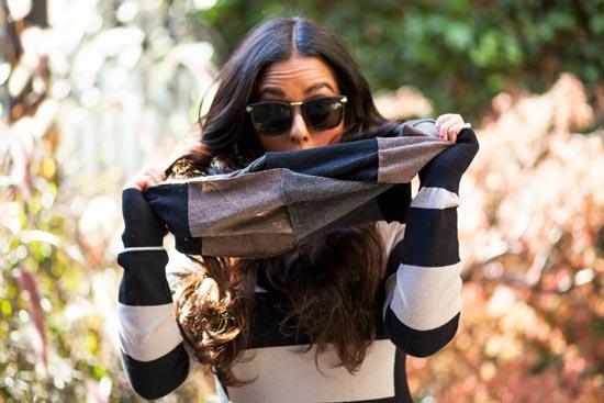 مدل شال زمستانی دخترانه 2015