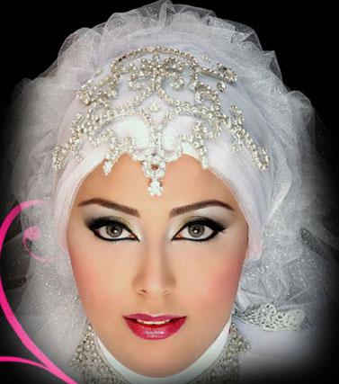 مدل هاي تاج و تور عروس پوشيده