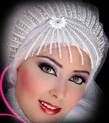 مدل تاج و تور عروس عرب و ترک