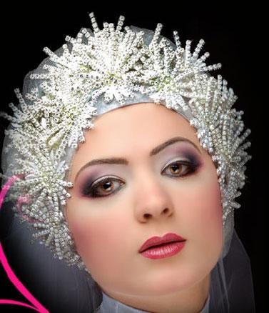 مدل تاج عروس عرب