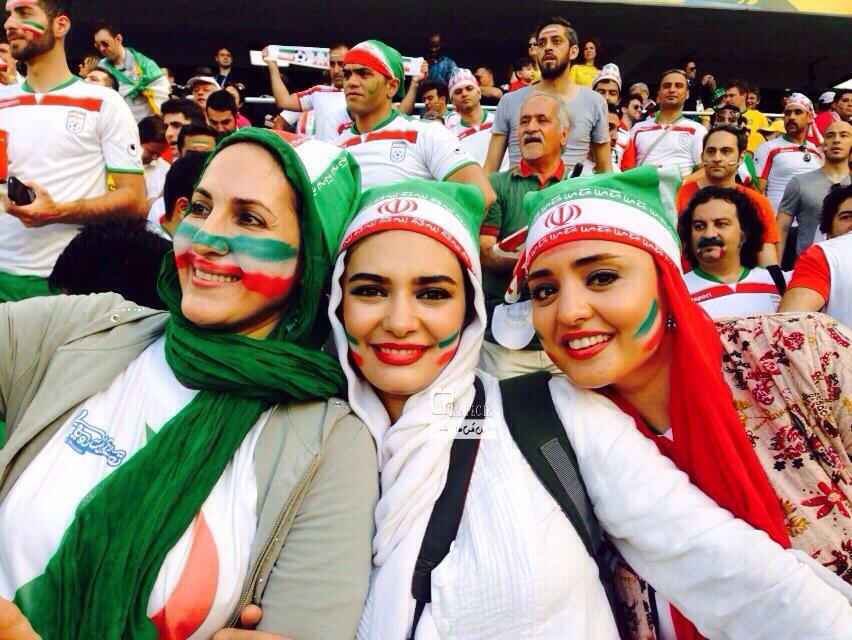 عکس های افراد مشهور ایرانی در جام جهانی 2014