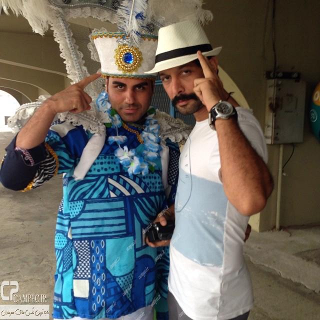 عکس های شخصی بازیگران و هنرمندان در برزیل
