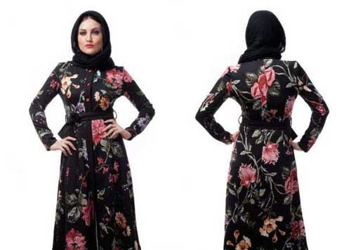 انواع مدل مانتو دو تیکه ایرانی