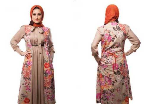 زیباترین مانتو دو تیکه ایرانی