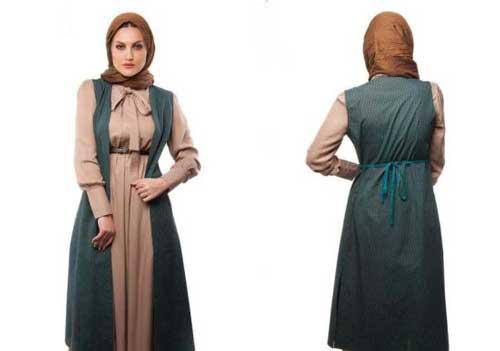 عكس مدل مانتو دو تیکه ایرانی