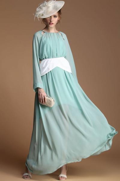 انواع مدل لباس بلند مجلسی کلاه دار